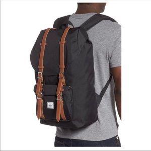NEW Black Herschel Supply Little America Backpack